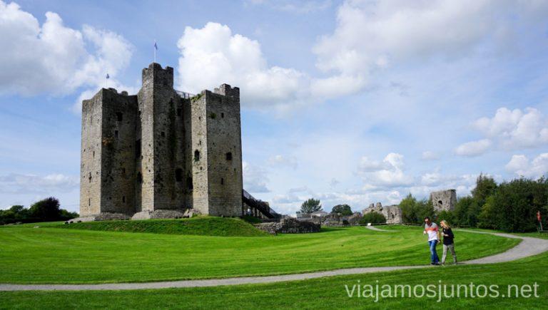 Castillo de Trim. Qué ver en los alrededores de Dublín. #IrlandaJuntos