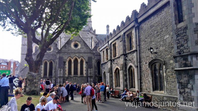 ¿No sabes qué hacer en Dublín? Por ejemplo, Christ Church Cathedral. Qué ver y hacer en Dublín Nuestros imprescindibles #IrlandaJuntos