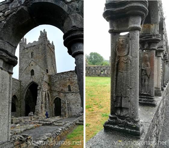 Abadía Jerpoint. Qué ver y hacer en Irlanda #IrlandaJuntos Ireland's Ancient East