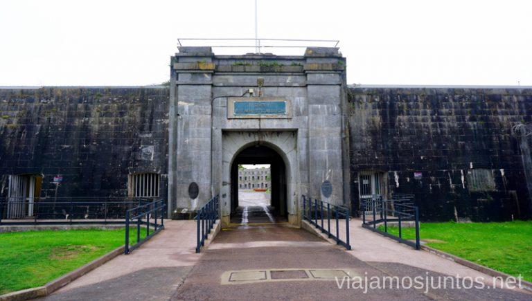 Fuerte Michelle en la isla Spike. Qué ver y hacer en Irlanda #IrlandaJuntos Ireland's Ancient East