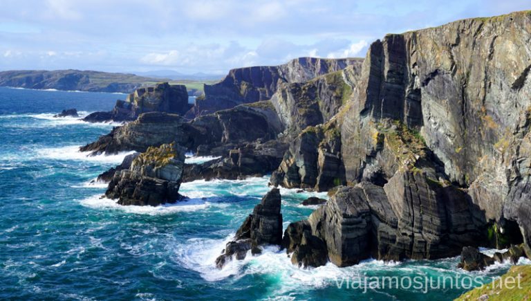 Los acantilados. Consejos prácticas para preparar tu viaje a Irlanda. Guía de viaje de irlanda #IrlandaJuntos