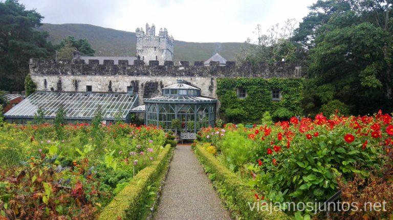 Castillo y jardines de Glenveagh Consejos prácticas para preparar tu viaje a Irlanda. Guía de viaje de irlanda #IrlandaJuntos