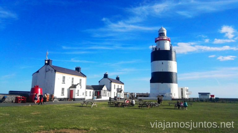 Faro Hook, en la ruta de Ireland's Ancient East. Roadtrip por Ireland's Ancient East. Consejos prácticos. #IrlandaJuntos