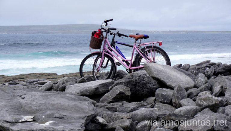 Explorando Inishere en bicicletas. Consejos prácticos para viajar por Wild Atlantic Way #IrlandaJuntos Ruta Costera del Atlántico