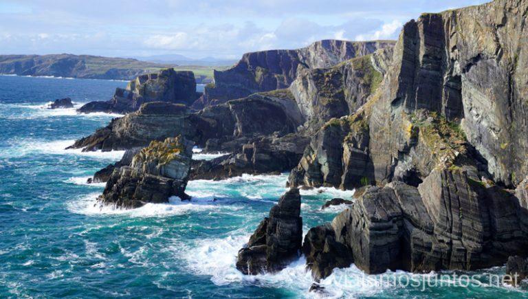 Mirador de los acantilados. Consejos prácticos para viajar por Wild Atlantic Way #IrlandaJuntos Ruta Costera del Atlántico