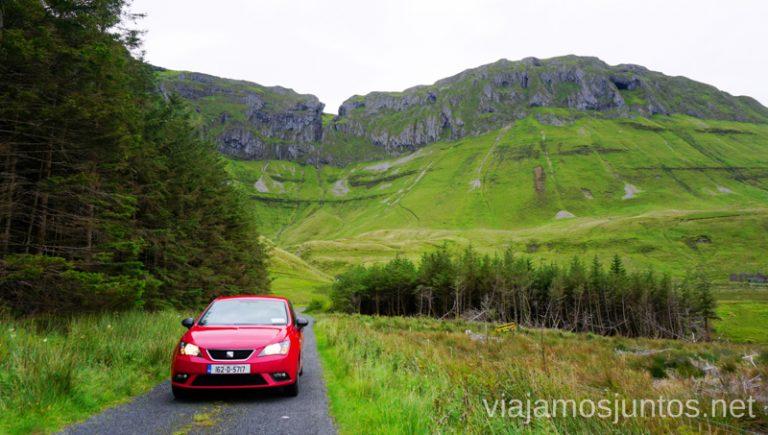 Conducir por Irlanda con estas vistas es un privilegio. Conducir por Irlanda. Carreteras de Irlanda. #IrlandaJuntos