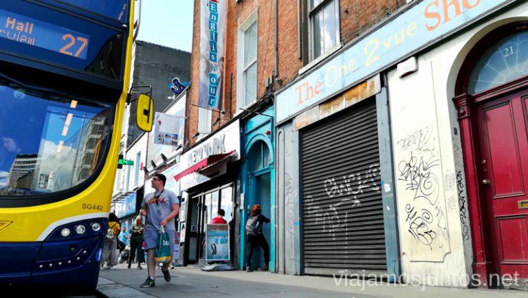 Dónde estudiar inglés en Dublín ¿Qué os parece Englishour en el centro de la ciudad? Dónde estudiar inglés en Dublín Irlanda #IrlandaJuntos Escuela de inglés Englishour