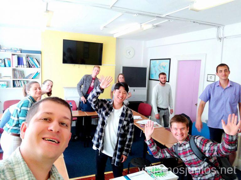 Clase B1 en Englishour, Dublín. Dónde estudiar inglés en Dublín Irlanda #IrlandaJuntos Escuela de inglés Englishour