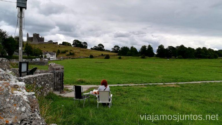Comer con vistas en Irlanda. Ireland's ancient East Irlanda en Campervan #IrlandaJuntos Spaceships #SpaceshipsJuntos
