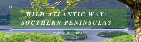 Ruta por Southern Peninsulas en Wild Atlantic Way en Irlanda.