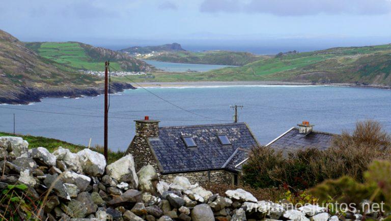 Vistas desde la península Crookheaven. Qué ver y hacer en Haven Coast Wild Atlantic Way Irlanda #IrlandaJuntos