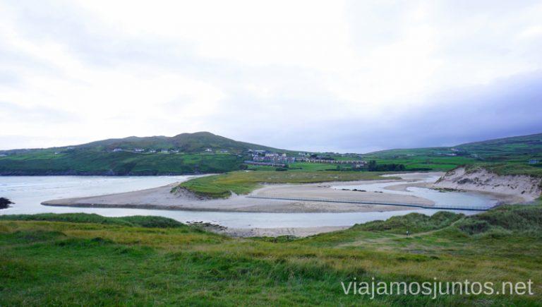 Barley Cove Beach y el puente flotante. Qué ver y hacer en Haven Coast Wild Atlantic Way Irlanda #IrlandaJuntos