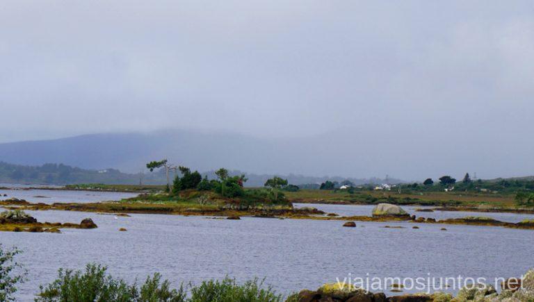 Vistas de la Carretera R374. Qué ver y hacer en Cliff Coast y Bay Coast Wild Atlantic Way Irlanda #IrlandaJuntos Ruta Costera del Atlántico