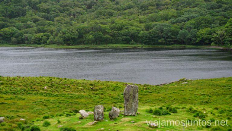 Uragh Stone Circle. Qué ver y hacer en Southern Peninsulas Irlanda #IrlandaJuntos