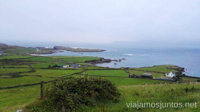 Paisajes de Southern Peninsulas en Wild Atlantic Way, Irlanda. Qué ver y hacer en Southern Peninsulas Irlanda #IrlandaJuntos