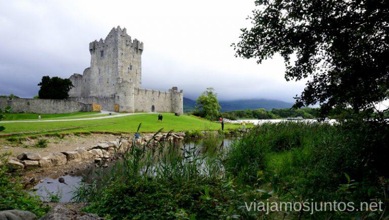 Ross Castle. Qué ver y hacer en Southern Peninsulas Irlanda #IrlandaJuntos