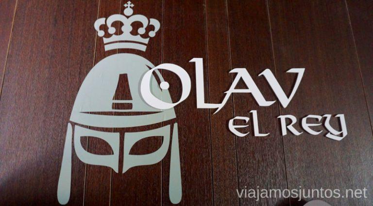 El rey Olav II - San Olav. Qué ver y qué hacer en Arlanza Burgos Castilla y León