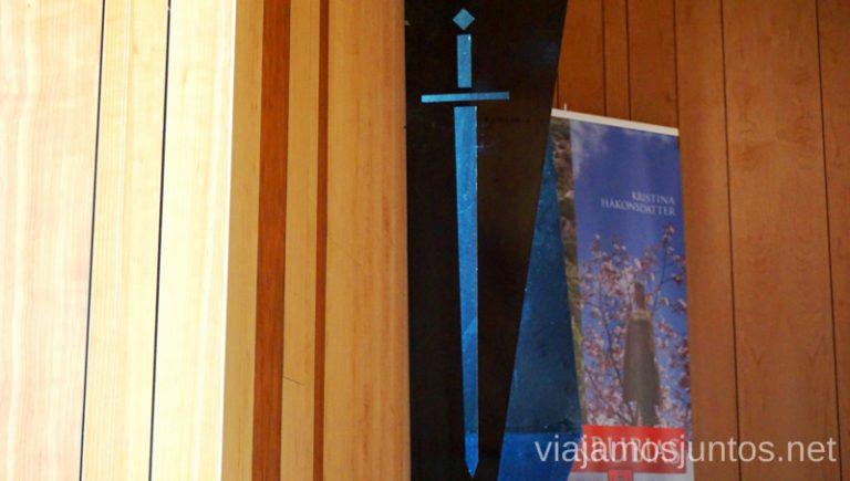 Interior de la capilla de San Olav en Covarrubias. Qué ver y qué hacer en Arlanza Burgos Castilla y León