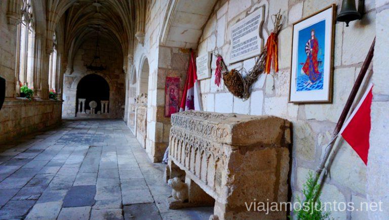 Sarcófago de la princesa noruega Kristina en Covarrubias. Qué ver y qué hacer en Arlanza Burgos Castilla y León