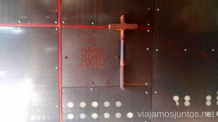 Entrada a la capilla de San Olav, Covarrubias. Qué ver y qué hacer en Arlanza Burgos Castilla y León