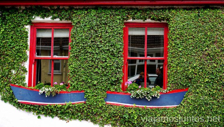 Casas irlandesas sintonizadas con el entorno.