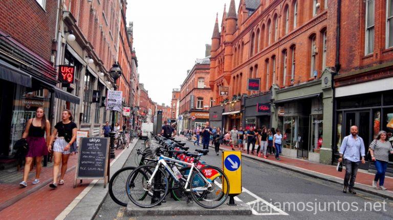 Bicis en Dublin. #IrlandaJuntos