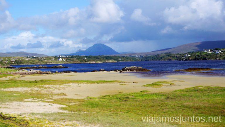 Carrickfinn Beach. Qué ver y hacer en Wild Atlantic Way Irlanda #IrlandaJuntos Northern Headlands