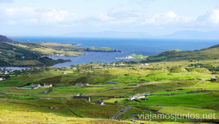 Slieve League. Qué ver y hacer en Wild Atlantic Way Irlanda #IrlandaJuntos Northern Headlands