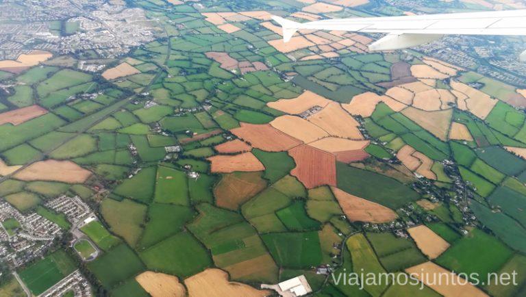 Campos delimitados. Irlanda