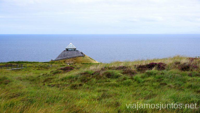 Céide Fields. Qué ver y hacer en Wild Atlantic Way Irlanda #IrlandaJuntos Surf Coast