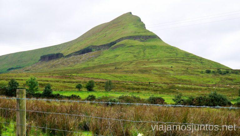 Acercándose a Gleniff Horseshoe Drive. Qué ver y hacer en Wild Atlantic Way Irlanda #IrlandaJuntos Surf Coast