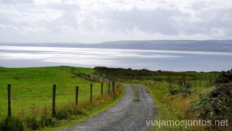 Stroove Beach. Qué ver y hacer en Wild Atlantic Way Irlanda #IrlandaJuntos Northern Headlands