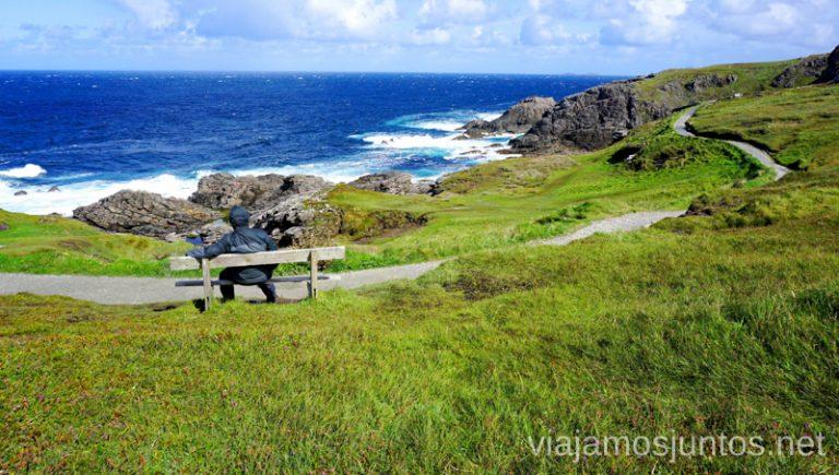 Malin Head. Qué ver y hacer en Wild Atlantic Way Irlanda #IrlandaJuntos Northern Headlands