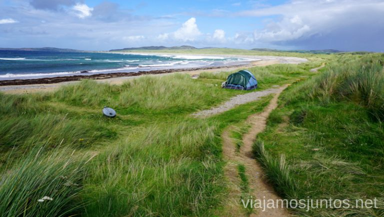 Dunas Qué ver y hacer en Wild Atlantic Way Irlanda #IrlandaJuntos Northern Headlands