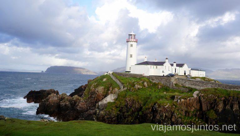 Fanad Head Lighthouse. Qué ver y hacer en Wild Atlantic Way Irlanda #IrlandaJuntos Northern Headlands