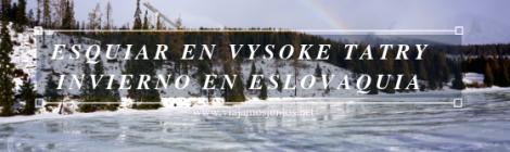 Esquiar en Eslovaquia. Invierno en Vysoke Tatry. Esquiar en Vysoke Tatry. Invierno en Eslovaquia.
