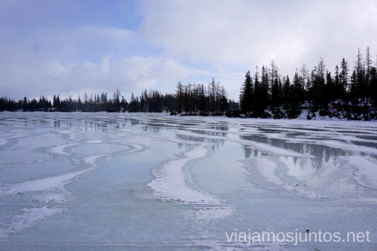 Strybske Pleso. Eslovaquia. Dónde esquiar en Eslovaquia. Consejos prácticos. Viajar en invierno en Eslovaquia.