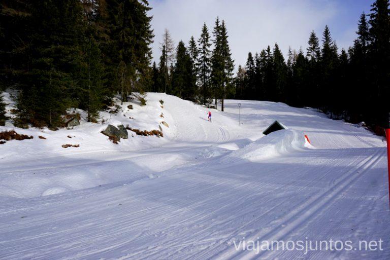 Esquí de fondo en Eslovaquia. Dónde esquiar en Eslovaquia. Consejos prácticos. Viajar en invierno en Eslovaquia.