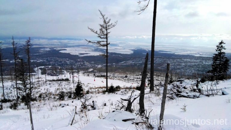Invierno en Eslovaquia. Esquiar en Vysoke Tatry. Dónde esquiar en Eslovaquia. Consejos prácticos. Viajar en invierno en Eslovaquia.