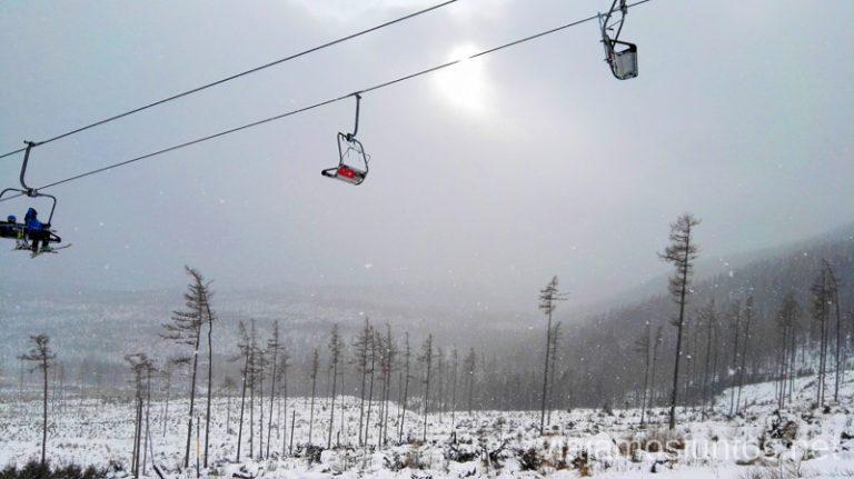 Esquiando en Eslovaquia. Dónde esquiar en Eslovaquia. Consejos prácticos. Viajar en invierno en Eslovaquia.