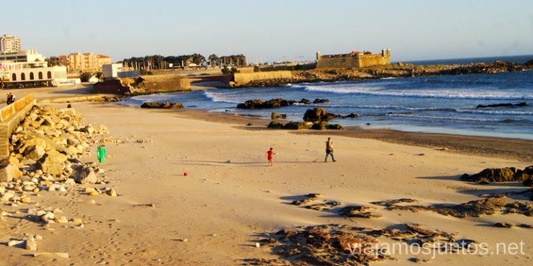 Playas de Matosinhos - el enclavo de tranquilidad de los locales. Qué ver y hacer en Oporto en un día Portugal