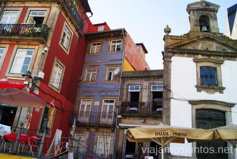 Rincones con encanto de Porto. Qué ver y hacer en Oporto en un día Portugal