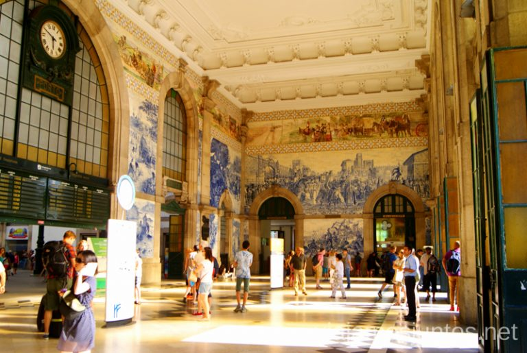 Estación de trenes de San Benito, Oporto. Qué ver y hacer en Oporto en un día Portugal