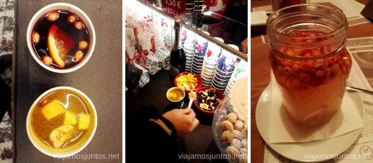 Beber té de espino amarillo y vinos calientes en Países Bálticos. Qué ver y hacer en Países Bálticos. Viajar a Países Bálticos en invierno.
