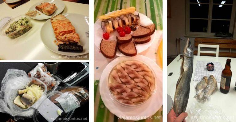 Comer pescado en Países Bálticos. Qué ver y hacer en Países Bálticos. Viajar a Países Bálticos en invierno.
