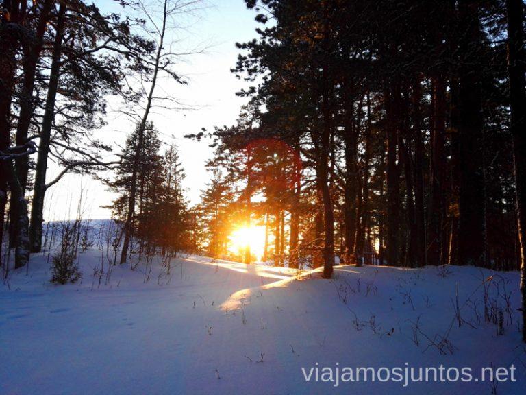 Cuando sale el sol... Qué ver y hacer en Países Bálticos. Viajar a Países Bálticos en invierno.
