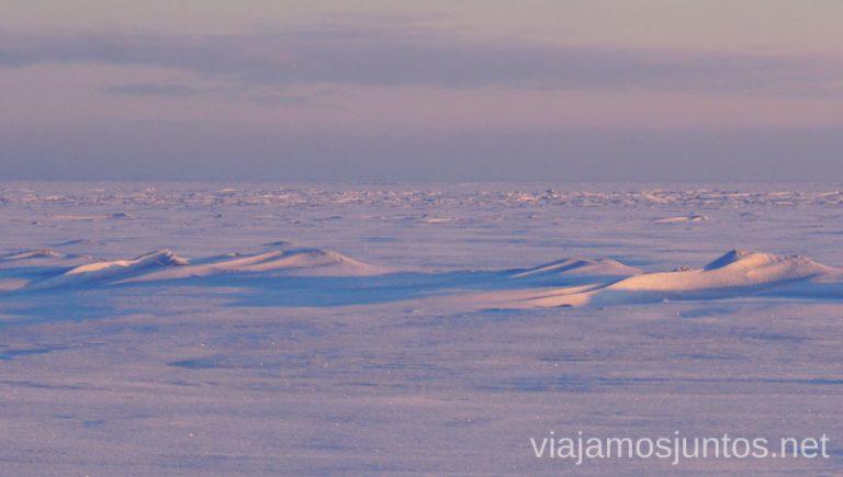 Olas congeladas. Qué ver y hacer en Países Bálticos. Viajar a Países Bálticos en invierno.