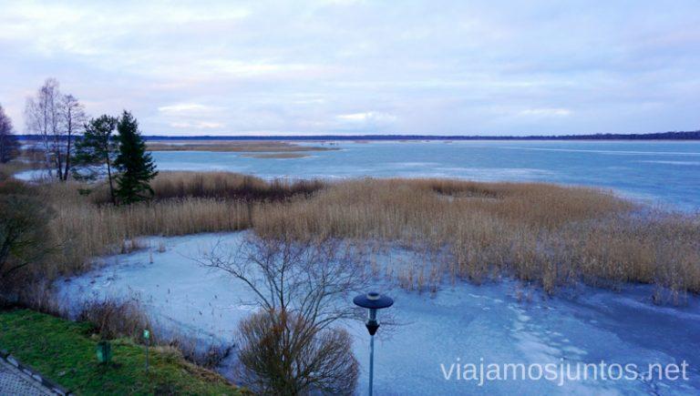 Lagos congelados de Estonia. Consejos prácticos para viajar a Países Bálticos en invierno.