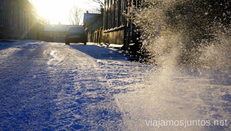 Bálticos en invierno es nieve y más nieve.Qué ver y hacer en Países Bálticos. Viajar a Países Bálticos en invierno.