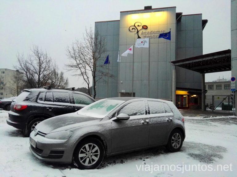Alojamiento en Tallinn. Consejos prácticos para viajar a Países Bálticos en invierno.